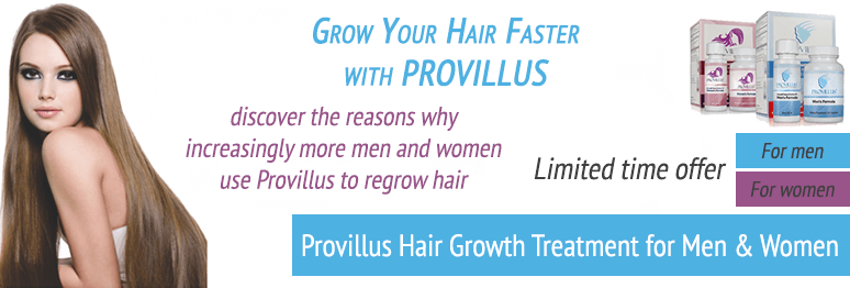Grow your hair with Provillus