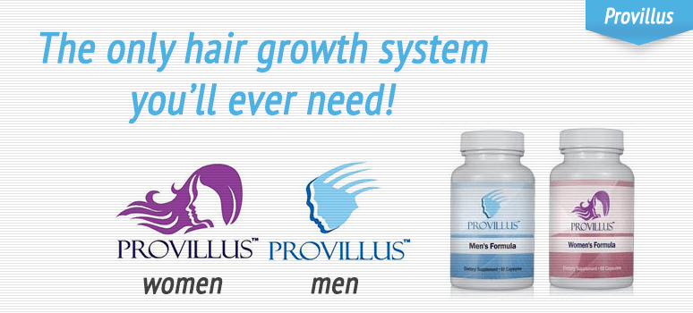 How to regrow hair on a receding hairline with provillus for Does fish oil help your hair grow